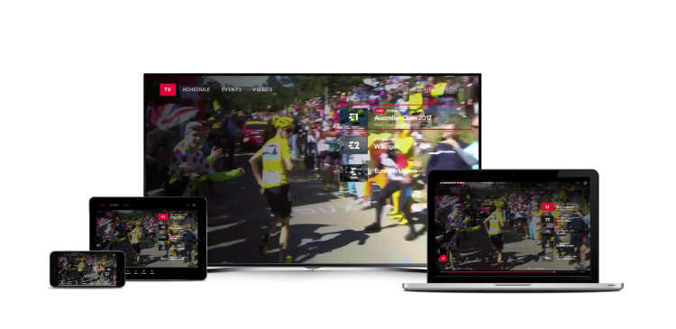 Eurosport Player auf PC, Tablet, Smartphone oder Smart-TV
