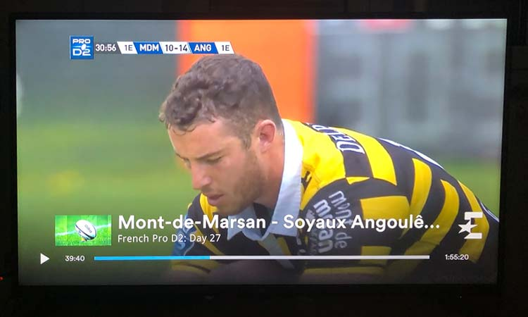 Eurosport Player Test