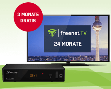 Freenet TV Aktionsangebot bei Mobilcom-Debitel
