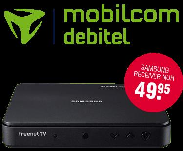 Freenet TV Aktionsangebot bei Mobilcom-Debitel