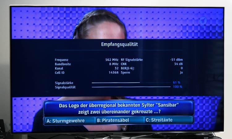Freenet TV Test - Empfangsqualität prüfen