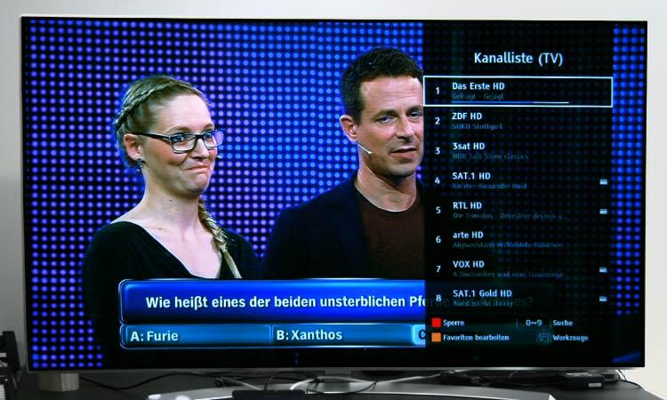 Freenet TV Testbericht - Kanalliste