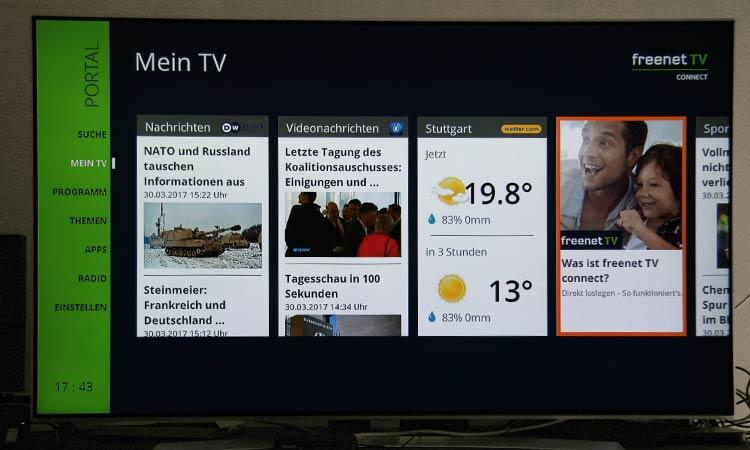 Freenet TV Testbericht - Freenet TV Connect Mein TV