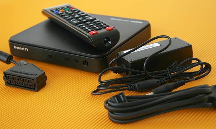 Freenet TV Receiver: Lieferumfang