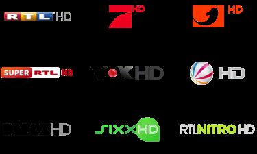 Auswahl der Freenet TV Sender