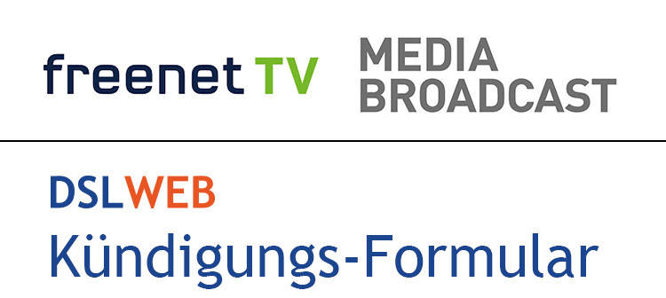 Freenet TV Kündigung Vorlage (Media Broadcast)