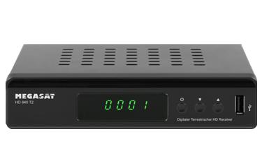 Megasat HD 640 T2 DVB-T2 Receiver