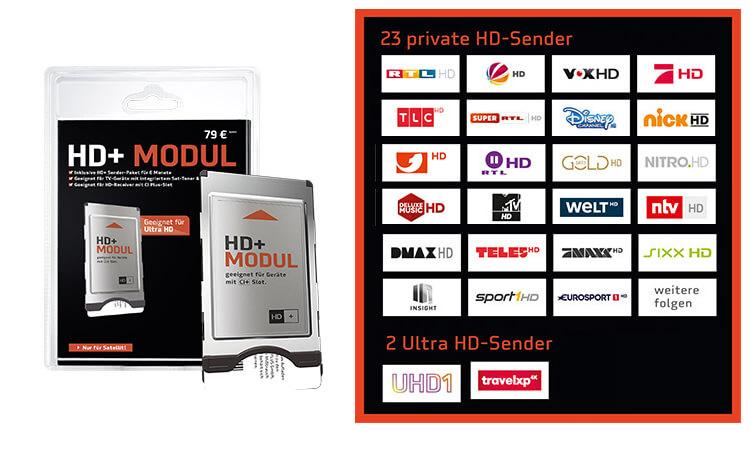 Bestandteile HD Plus Abo