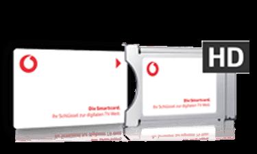 Vodafone Kabel Deutschland CI+ Modul und Receiver