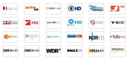 Kabel Deutschland HD Sender 1