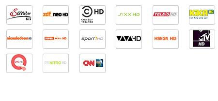 Kabel Deutschland HD Sender 2