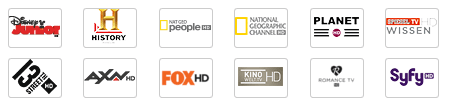 Sender aus Vodafone Kabel Deutschland Vielfalt HD (Teil 1)