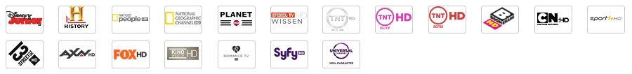 Sender aus Vodafone Kabel Deutschland Vielfalt HD