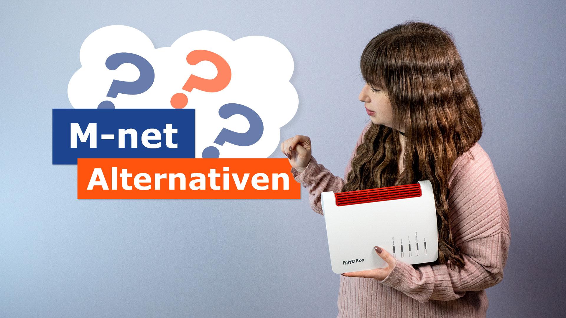 Testalternativen für M-Net-Anbieter
