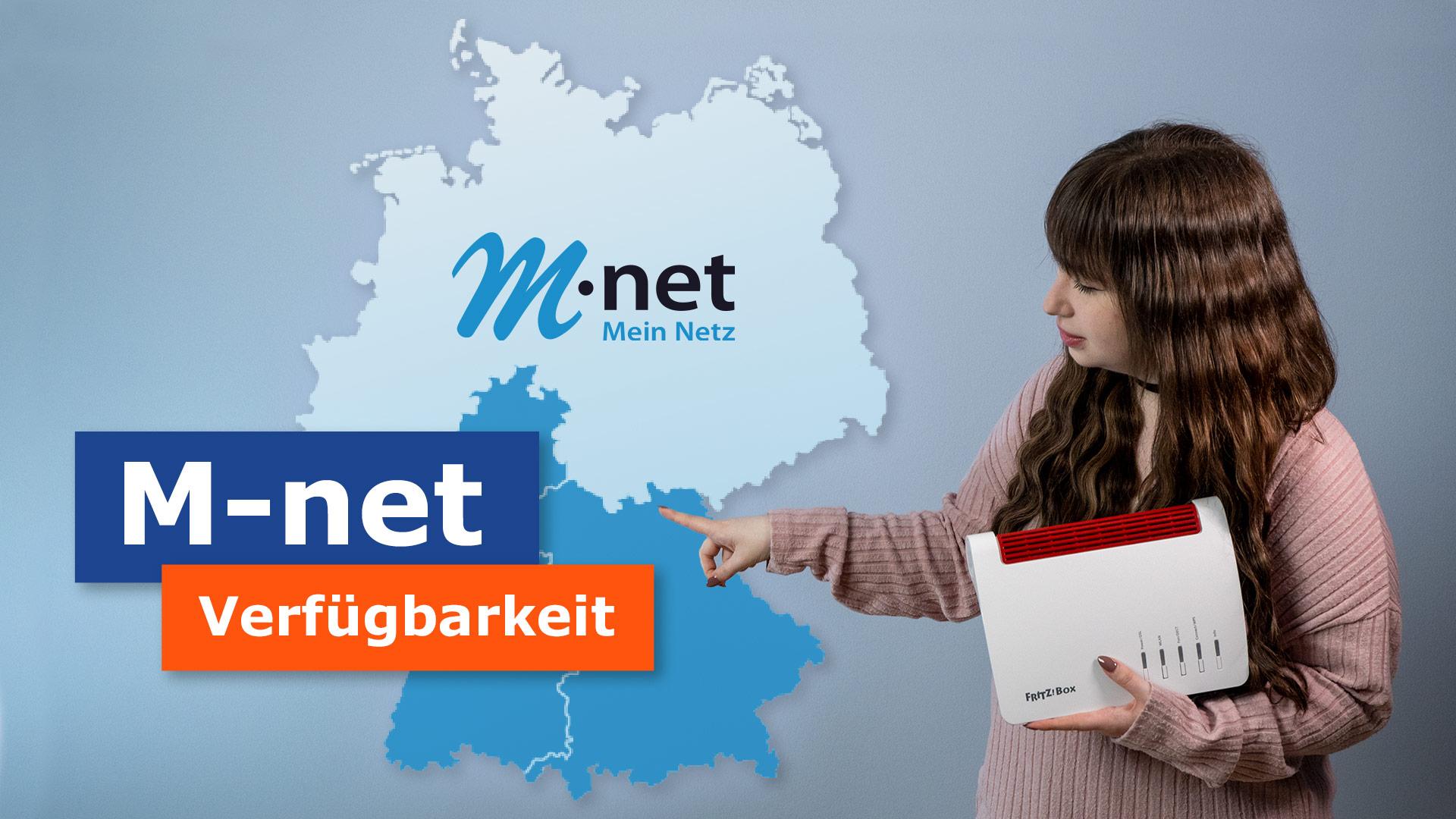 Testverfügbarkeit des M-Net-Anbieters