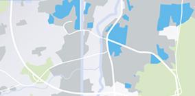 Glasfaser Ausbaugebiet von M-Net in Erlangen