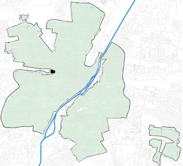 Glasfaser Ausbaugebiet von M-Net in München Zentrum