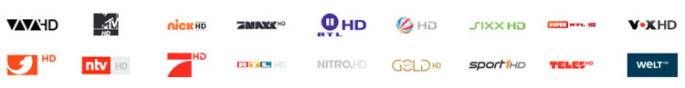 M-net HD Paket Senderlogos