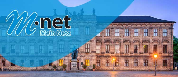 M-net in Erlangen