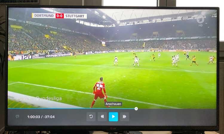 M-net TV Box Wiedergabe