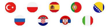 M-net TV Sprachpakete Flaggen