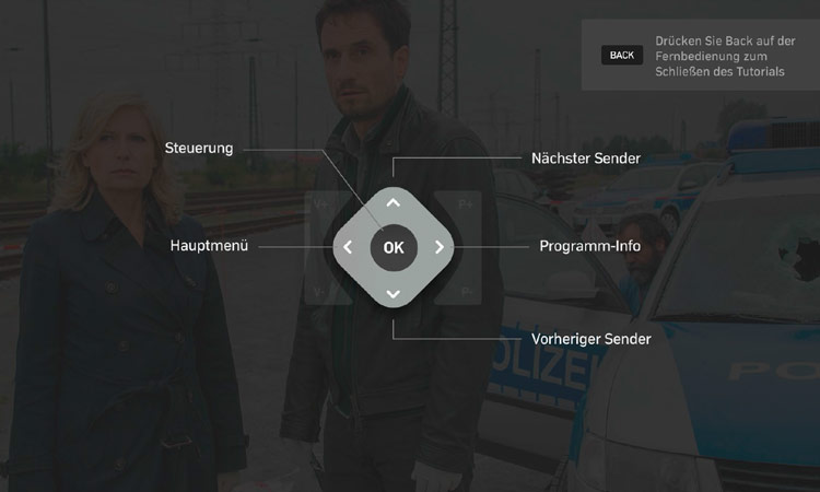 NetCologne NetTV-Box: Bedienung