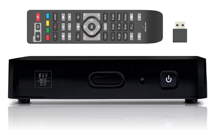 Lieferumfang NetCologne NetTV-Box