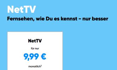 Aktuelles NetCologne NetTV Angebot