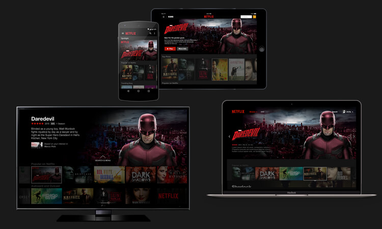 Netflix auf verschiedenen Endgeräten nutzen