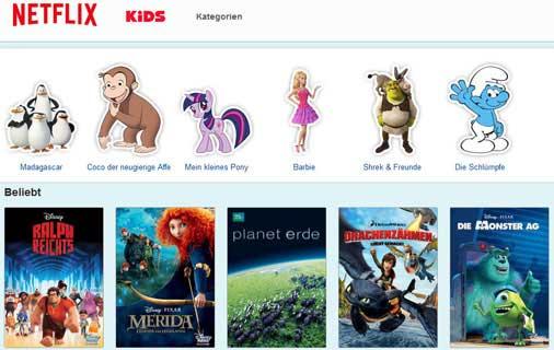 Netflix Kinderprogramm