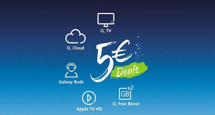 o2 5 € Deals