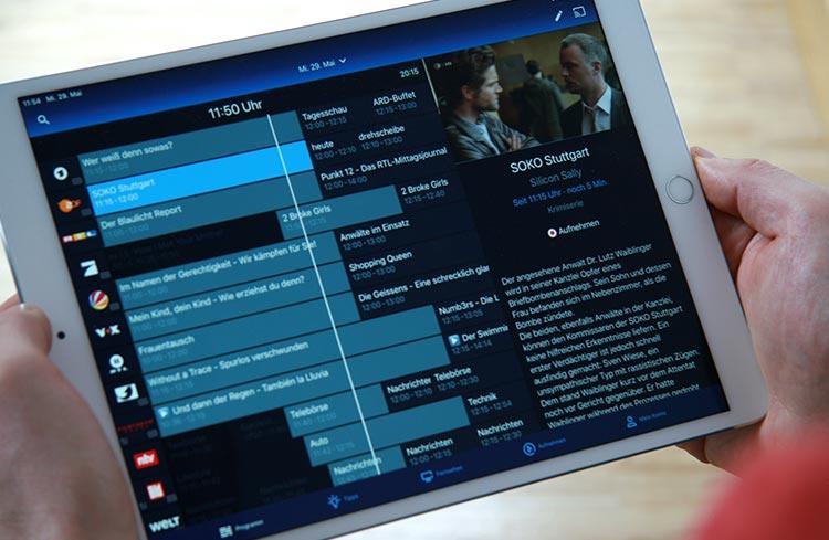 o2 TV im Test - Programmübersicht