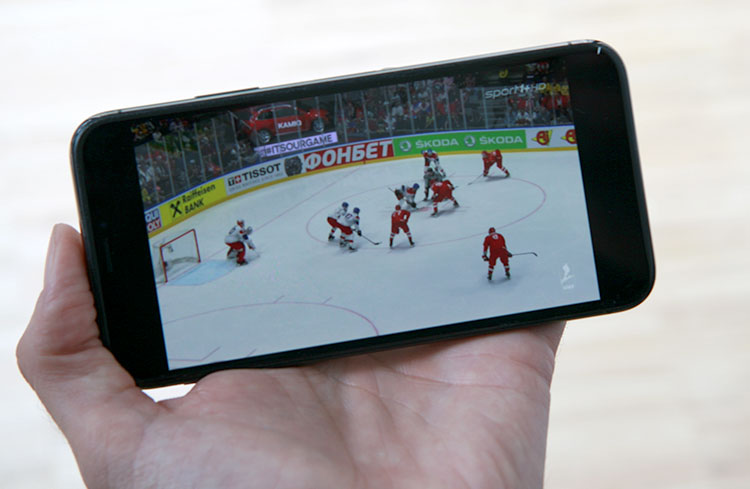 o2 TV im Test - Eishockey