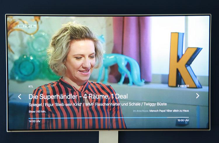 o2 TV im Test - Live-TV mit Apple TV