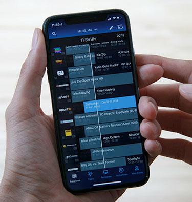 o2 TV im Test - iPhone App