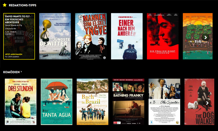 Film-Empfehlungen bei Pantaflix