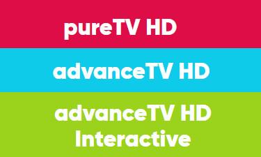 Logos Pure TV Advance TV