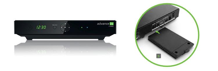 PYUR Advance TV mit Festplatte