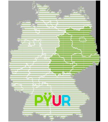 Logo PYUR Verfügbarkeit
