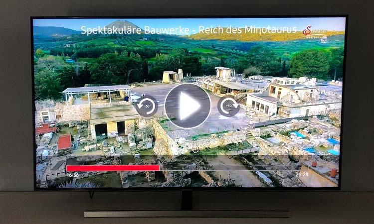 Save TV auf Samsung Smart TV