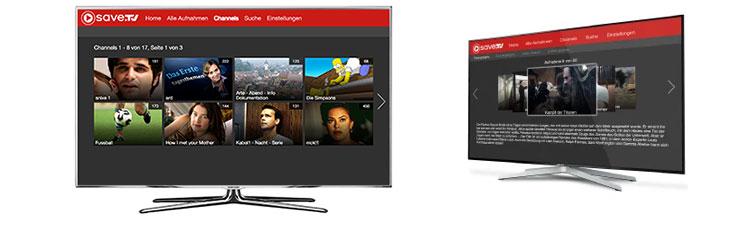 Save TV auf dem Smart TV