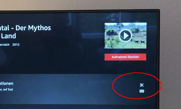 Save TV Test - Werbung herausschneiden