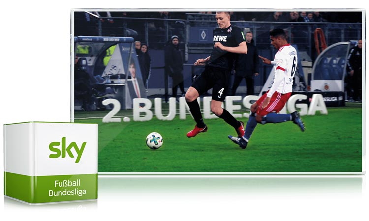 2. Bundesliga bei Sky