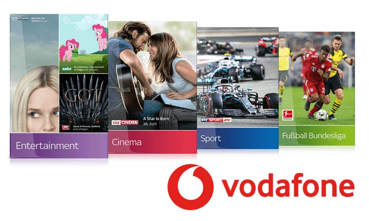 Sky bei Vodafone