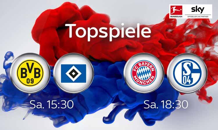 Sky Bundesliga am 22. Spieltag
