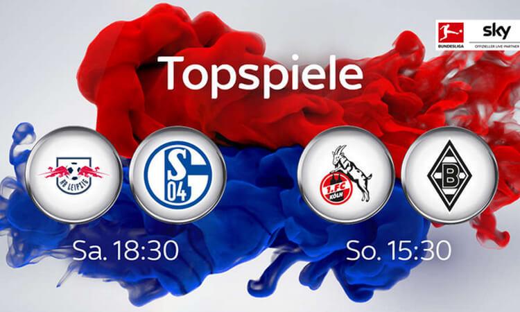 Topspiele bei Sky am 18. Spieltag