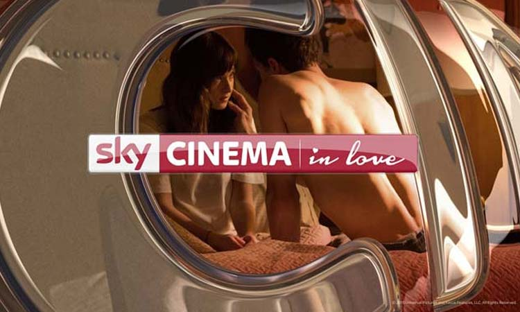Sky Cinema in Love Logo
