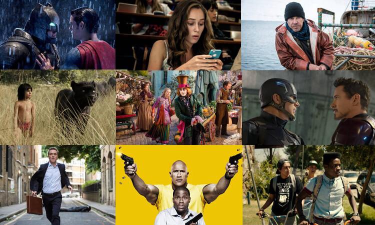 Beispiele für Filme und Serien bei Sky