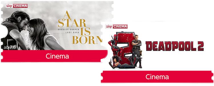 Sky Cinema Ticket Filme