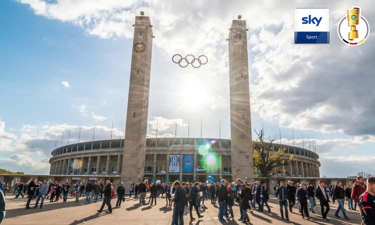 Alle DFB-Pokal Spiele gibt es live bei Sky Sport